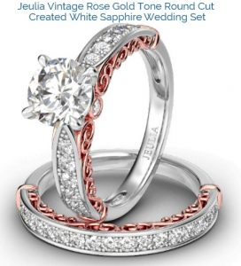 WOWJeulia Wedding Sets REVEAL Milgrain Rings is STUNNING Deal